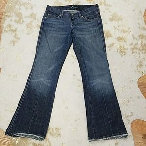 Almost New 7 for all mankind Jeans